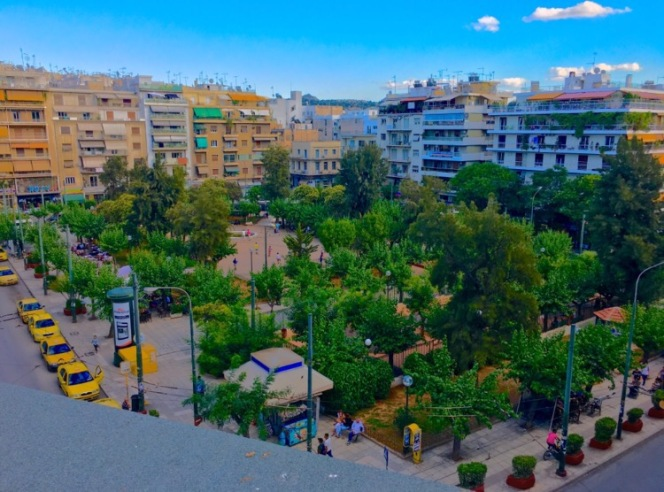 Kypseli Square - Greece